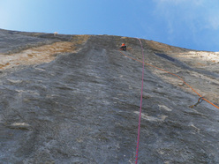 The third pitch of Zahir, Wenden, Svizzera