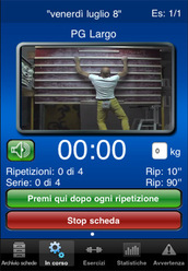 Climbing Training via the iPhone, developed by Allesandro Jolly Lamberti and Piero Amato