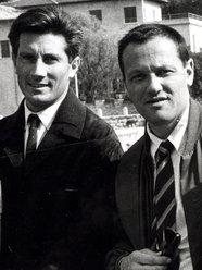 Walter Bonatti (a sx) con Pierre Mazeaud