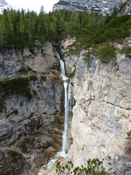 Canyons and waterfalls, Fanis, Dolomites