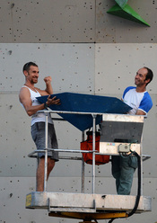 Coppa Italia Lead 2011: i tracciatori Luigi Billoro e Leonardo di Marino a Padova