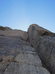 The penultimate pitch of Serratit, Quvnerit Island, Greenland
