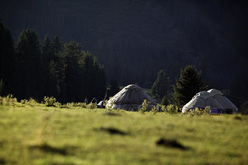 Nella valle Djety Orguz, Kirghizistan