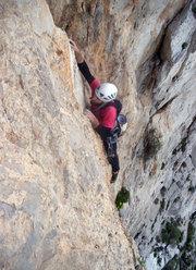Massimo Flaccavento sul quinto tiro durante la prima libera di Stella di Periferia - Punta Baloo, Monte Gallo, Palermo