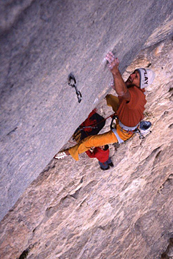Alessandro Jolly Lamberti repeating Le Minimum 8c, Buoux, France.