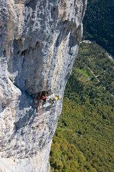 Pietro Dal Prà on Gracias a la Vida, Lastia de Gardes, Pale di San Lucano - Dolomites