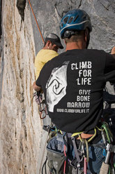 Pietro Dal Prà and Climb for life