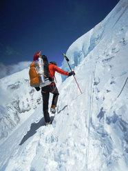 Ueli Steck a 7600m sul Cho Oyu