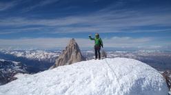 Micheal Lerjen in Patagonia