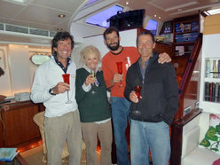 Beppe, Cristina, Michele e Luca