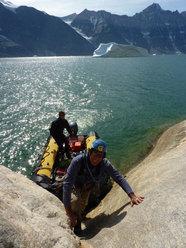 Si parte dal mare per l'arrampicata