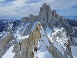 The splendid view onto the Fitz Roy massif.