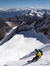 14/05/2012: parete NE della Grivola, discesa con sci e snowboard da Davide Capozzi, Luca Rolli e Francesco Civra Dano