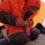 Ueli Steck si prepara al Colle Sud di Everest
