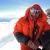 Ueli Steck sul balcone di Everest il 18/05/2012