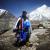 Il russo Valery Rozov e il BASE Jump da quota 6420m dallo Shivling (Himalaya) il 25/05/2012.