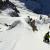 04/01/2013: probabile prima discesa in sci e snowboard della Face Sud Est dell'Aiguille du Chardonnet (Monte Bianco) di Davide Capozzi, Julien Herry e Luca Rolli.