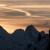 Sunset before climbing Psyco Killer, Tofana di Rozes, Dolomites (Beppe Ballico, Andrea Gamberini & Marco Milanese 12/01/2013)