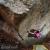 Michele Caminati libera il boulder Mondo Bastardo 8B a Monte Amiata
