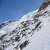 Couloir de l'Aiguille Carrée, Aiguille Verte, Monte Bianco sceso con sci e snowboard il 21/02/2013 da Davide Capozzi, Julien Herry e Luca Rolli.