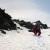 Il 31/03/2014 Davide Capozzi e Julien Herry con lo snowboard e Luca Rolli in sci sono scesi la parete Sud-Est della Grivola, Gran Paradiso.