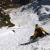 Davide Capozzi and Julien Herry snowboarding the NE Face of Testa di Valnontey on 19/05/2014