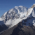From the left: Huascaran South 6768m and North 6662m.