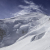 The attempt to climb Mont Blanc: wind on Arête des Bosses