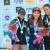 Haiyang, Cina Lead podio femminile: Magdalena Röck, Jain Kim, Anak Verhoeven