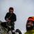 Colin Haley e Rob Smith durante la prima salita di Romance Explosion (500m, 5.10R, M5R), Aguja Antipasto, Cerro San Lorenzo, Patagonia.