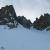 Durante la salita del Canale Dufranc, Monte Malinvern
