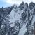 Pain de Sucre (3607m) parete nord e la Voie Normale, scesa da Davide Capozzi, Julien Herry e Francesco Civra Dano il 10/05/2015 in ski e snowboard.