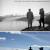 Parco Nazionale delle Torri del Paine, Patagonia: il confronto fotografico delle foto scattata da Alberto De Agostini e Fabiano Ventura