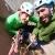 Alice Lazzaro e Giovanni Zaccaria in... Facce da basalto (Way Mule, 40mt, 6b)