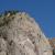 La parte alta del Pricipizio degli Asteroidi, il guardiano della Val di Mello