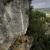 Luca Marzari climbing Il falco 8b, Lumignano