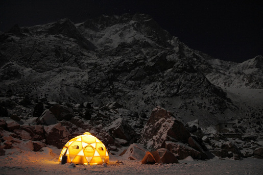 Nanga Parbat in winter, the Simone Moro and David Göttler attempt video
