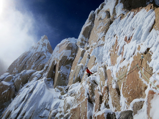 Fitz Roy non stop: Simon Gietl and Gerhard Fiegl in Patagonia