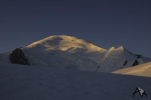 Monte Bianco senza cima. Di Mattia Salvi