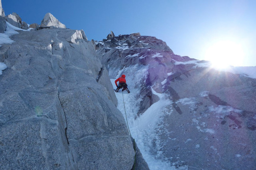 No Rest For the Wicked, new route in Alaska by John Frieh and Jess Roskelley