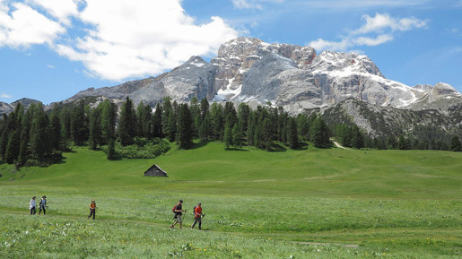 A walk to Plätzwiese in the Dolomites