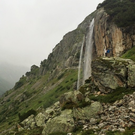 Climbers rise to the Ice Bucket Challenge