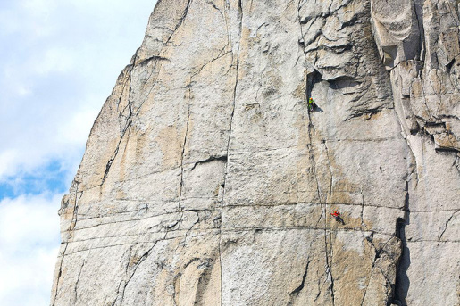 Electric Funeral, new route in Canada's Bugaboos by Jon Walsh and Michelle Kadatz