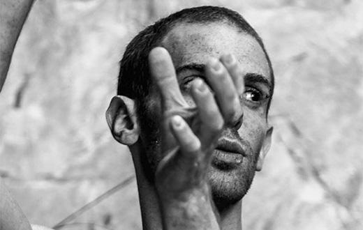 Gabriele Moroni climbs Goldrake 9a+ at Cornalba