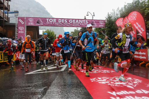 Tor des Géants, the race is in full swing