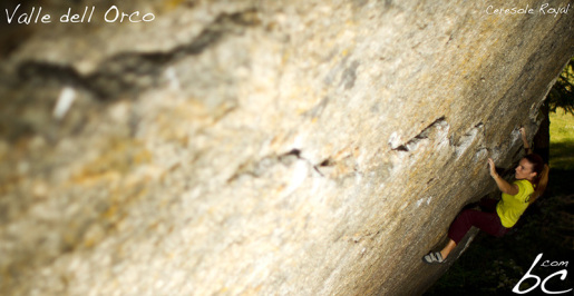 Orcoblocco, a successful first bouldering meeting in Valle dell'Orco, Italy