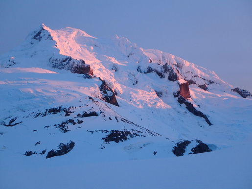 Volcan Aguilera, first ascent in Patagonia by the Uncharted expedition