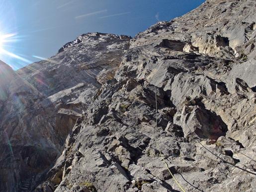 The Music of Hope, new Kristallwand climb by Hansjörg Auer and Gerri Fiegl