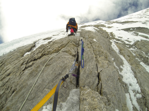 Gasherbrum V, first ascent by the Koreans Chi-young Ahn and Nak-jong Seong