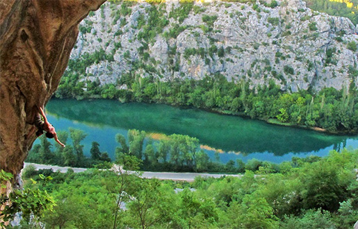 Omis and its sport climbing in southern Croatia